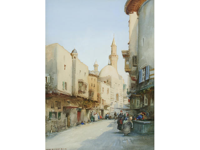Noel Harry Leaver (1889-1951)  A North African town,
