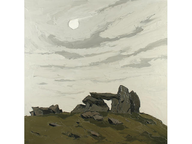 "Sir Kyffin Williams (1918-2006) ""Cromlech at Trefignath"","