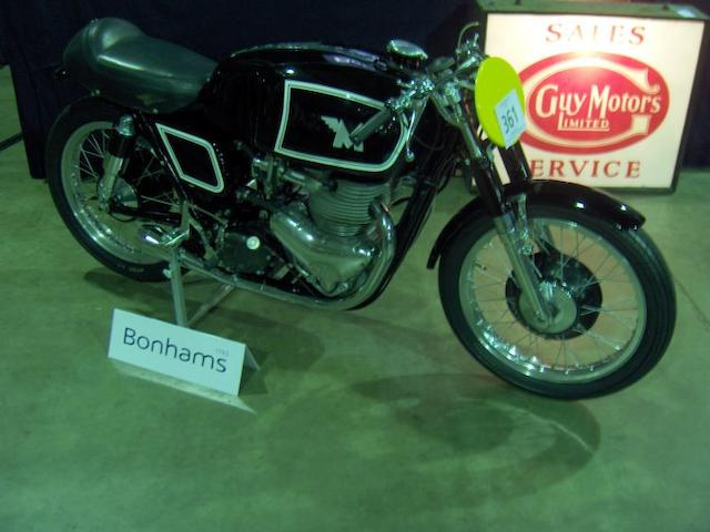 The ex-Bob Brown,1955 Matchless 498cc G45 Racing Motorcycle