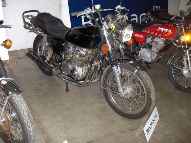1977 Honda 544cc CB 550K