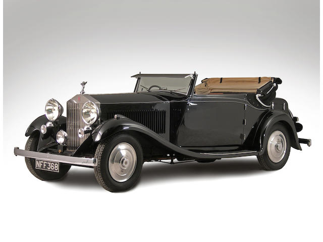 1932 Rolls-Royce 20/25hp Drophead Coupé GHW45