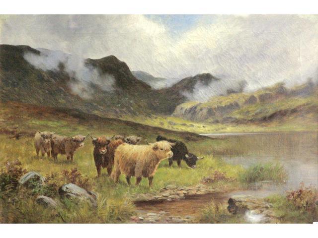 W Hindmarsh (19thc) 'Near Glencoe'