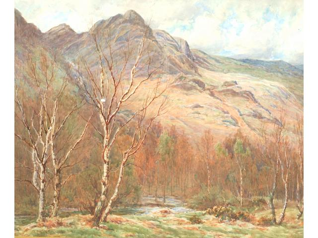 Tom Clough (1867-1943) A valley in the Lake District,