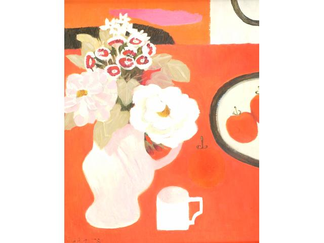 Mary Fedden (born 1915) Denny's Flowers,