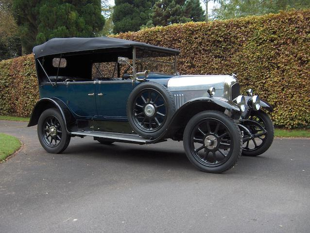 1925 Beardmore 12/30hp Type D Tourer  Chassis no. 444 Engine no. 448