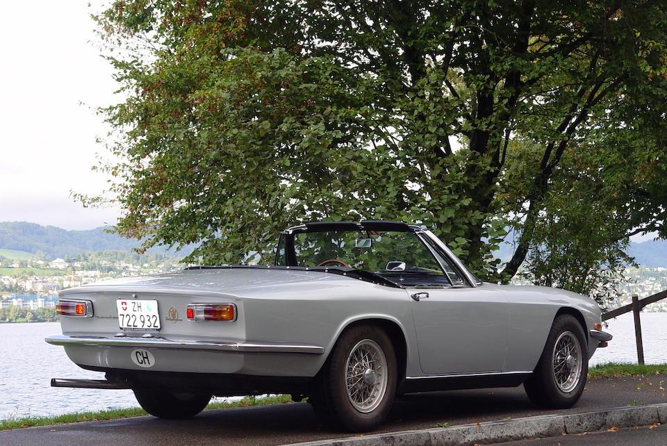 Bonhams : 1969 Maserati Maserati Mistral 4.0-Litre Spyder ...