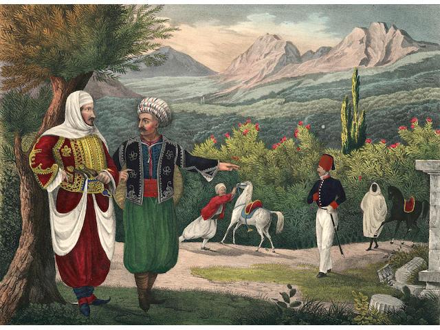 PÜCKLER-MUSKAU (HERMANN LUDWIG HEINRICH) Semilasso in Afrika, 6 vol. (including Atlas)