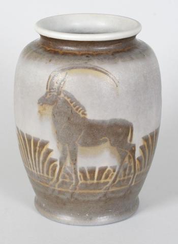 A Pilkingtons Royal Lancastrian vase by Richard Joyce