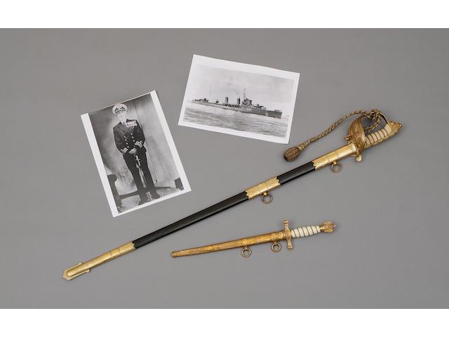 An 1821 Pattern Naval Officer's Sword.