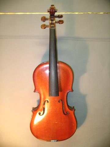 A Mirecourt Violin by JTL  circa 1900