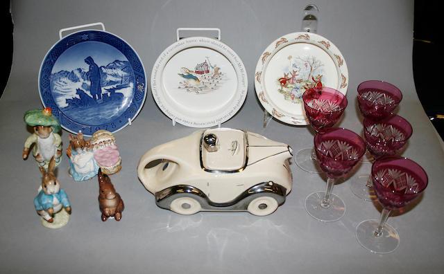 A quantity of ceramics and glassware