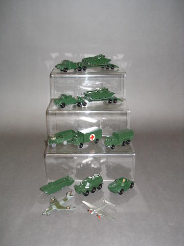 Matchbox 1-75s military vehicles, 10