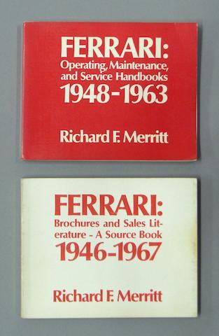 Richard Merritt, Ferrari Operating Maintenance and Service Handbooks - 1948 to 1963;