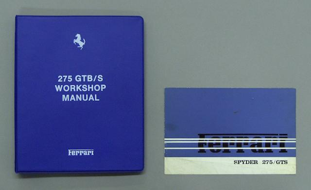 A 275GTB/S workshop manual,