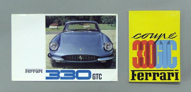 A sales brochure for the 330GTC,