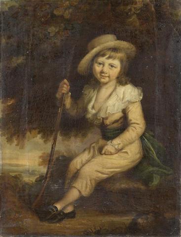 Circle of Daniel Gardner (Kendal 1750-1805 London) 56.7 x 43.5cm (22¼ x 17 1/8in)