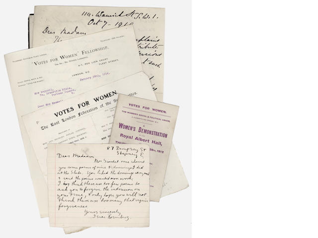 Collection of letters to Wilfrid Meynell