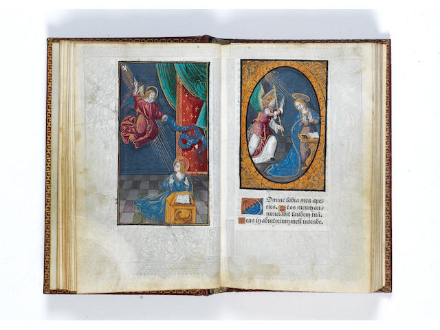 ILLUMINATED BOOK OF HOURS Book of Hours [Use of Rome, in Latin and French] Hore beate Marie virginis
