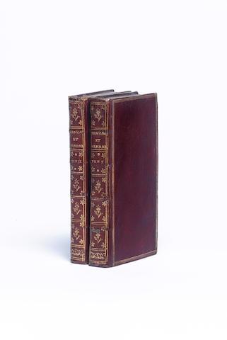 CREBILLON (CLAUDE-PROSPER JOLYOT DE) Tanzai et Néardarne. Histoire Japonoise, 2 vol.