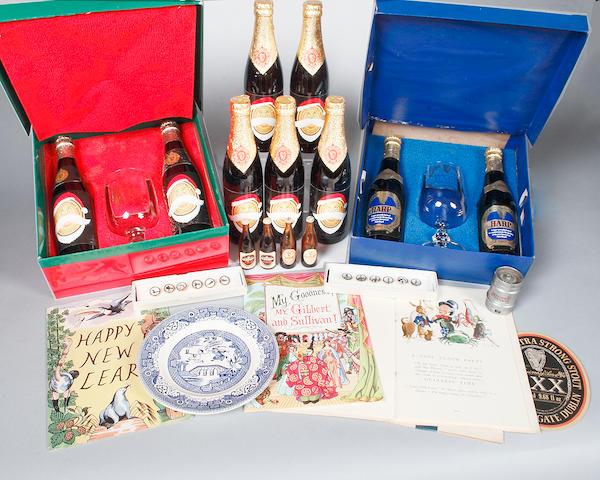 An assortment of Guinness memorabilia