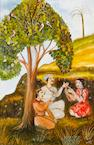 Tassuduque Sohail Mystic beneath a tree