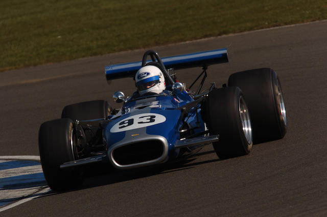 1969 Lola-Chevrolet T142 Formula 5000 Racing Single-Seater  Chassis no. SL142/25