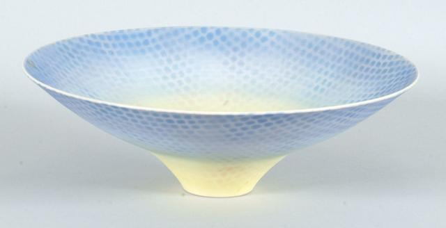 Peter Lane a flaring Bowl Diameter 29cm (11 1/2in.)