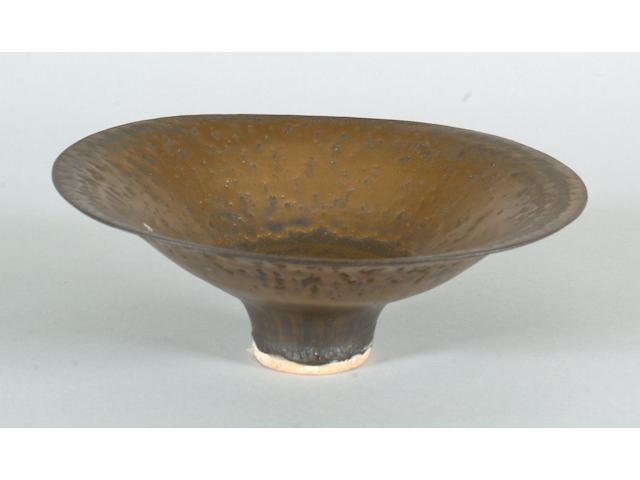 Dame Lucie Rie a flaring Bowl, circa 1980 Diameter 20cm (7 7/8in.)