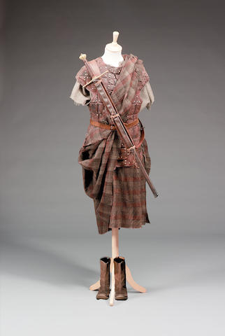 Full Outfit of William Wallace from Braveheart as worn by Mel Gibson,
