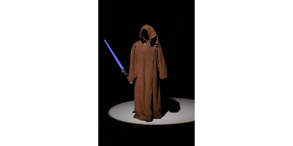 Obi Wan Kenobi's cloak, from Star Wars, 1977, as worn by Alec Guiness,