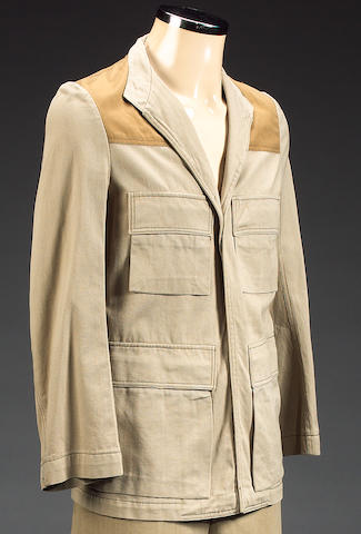 A rebel commanders jacket, from Star Wars, 1977