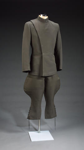 An imperial commanders uniform, from Star Wars 1977