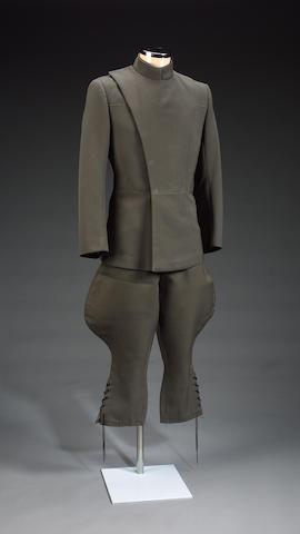 Star Wars, 1977 An imperial commanders uniform,