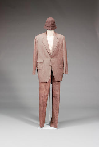A tweed jacket, trousers and hat, from Indian Jones and the Last Crusade, as worn by Sean Connery,