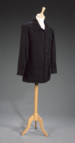 Richard Burton from Wild Geese II, 1985 A black military style jacket,