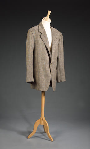 A brown tweed jacket, from Indian Jones and the Last Crusade, as worn by Sean Connery,