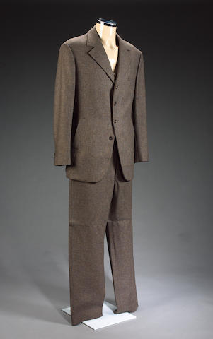 A brown tweed suit, from Indian Jones and the Last Crusade, as worn by Sean Connery,