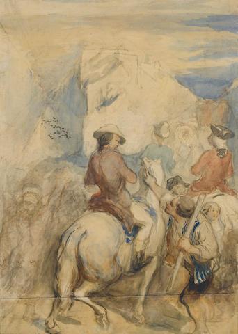 Honoré Daumier (French, 1808-1879) Scène de la Révolution