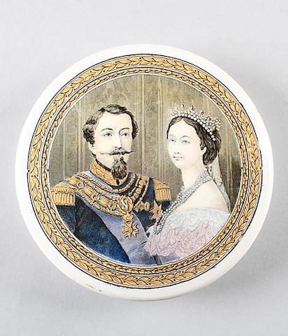 Napoleon III and Empress Eugènie