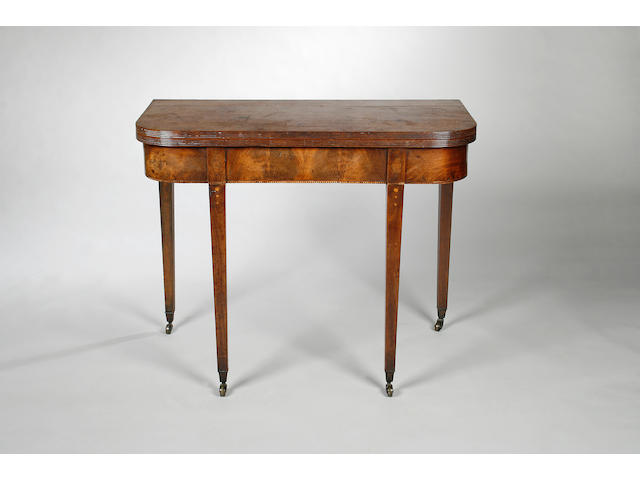 Three 19th century mahogany tea tables