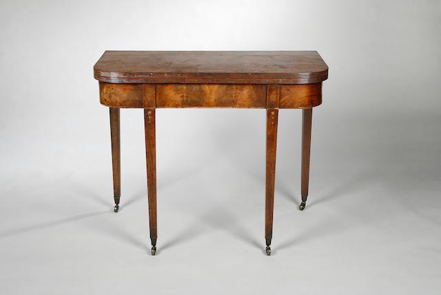 Three 19th century mahogany tea tables