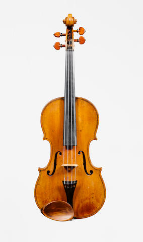 A good Violin by Johannes Cuypers,The Hague,