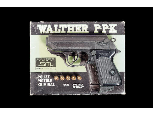 The Man With The Golden Gun, United Artists, 1974, A Replica Walther PPK,