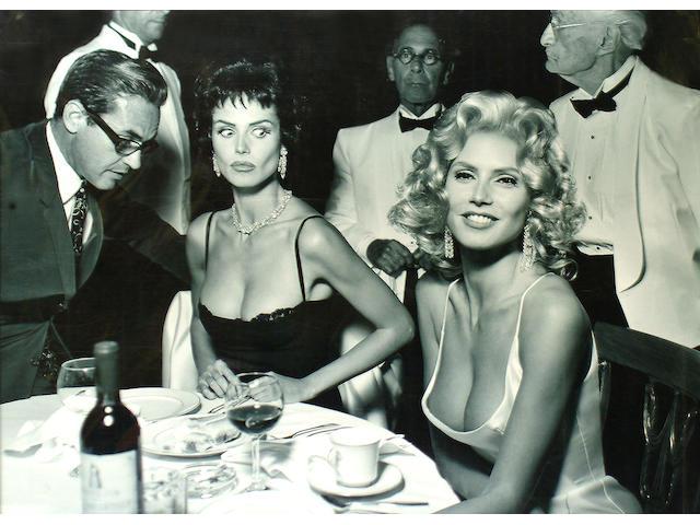 Mark Seliger (American, b.1959) Heidi Klum at Romanoffs