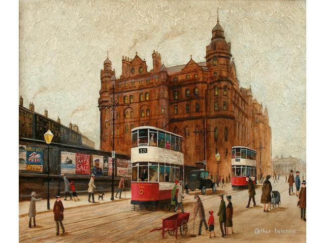 Arthur Delaney (British, 1927-1987) The Midland Hotel, Manchester,