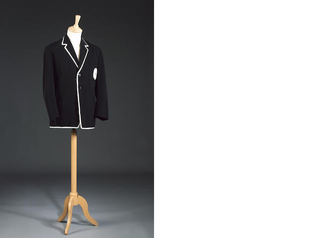 The Prisoner, 1967 A black blazer with white piping,