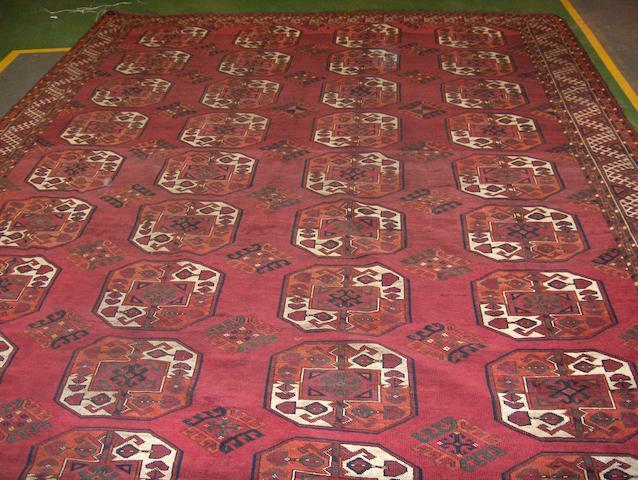 An Ersari carpet West Turkestan, 415cm x 295cm