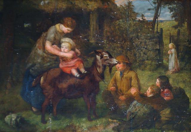 John Dawson Watson (British, 1832-1892) 'The First Ride'