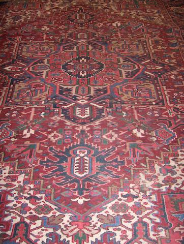 A Heriz carpet North West Persia, 335cm x 244cm