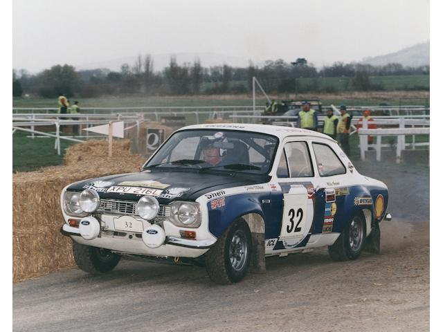 Roger Clark, Tony Pond, Russell Brooks and Andrew Cowan driven,1979 Ford Escort Mk1 RS1600 Ex-Works Rally Saloon  Chassis no. BBATNM 99901